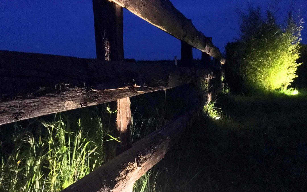 R alisations jardins de nuit renaud serniclay for Zumba exterieur laprairie