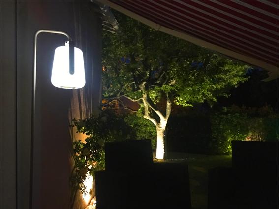 eclairage jardin marseille